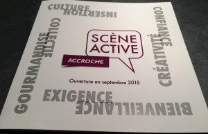 Démarrage de Scène Active : fin septembre…
