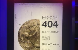 Error 404 : un excellent spectacle pour clore la saison 2018/2019